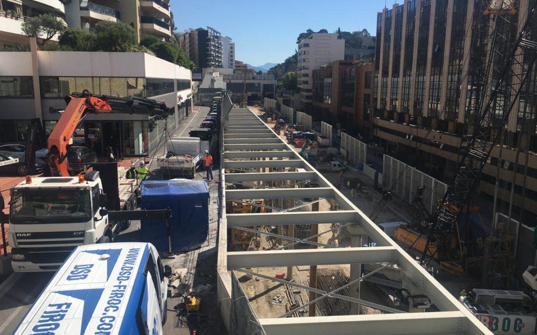 Tente acoustique BERLIN pour un chantier à Monaco
