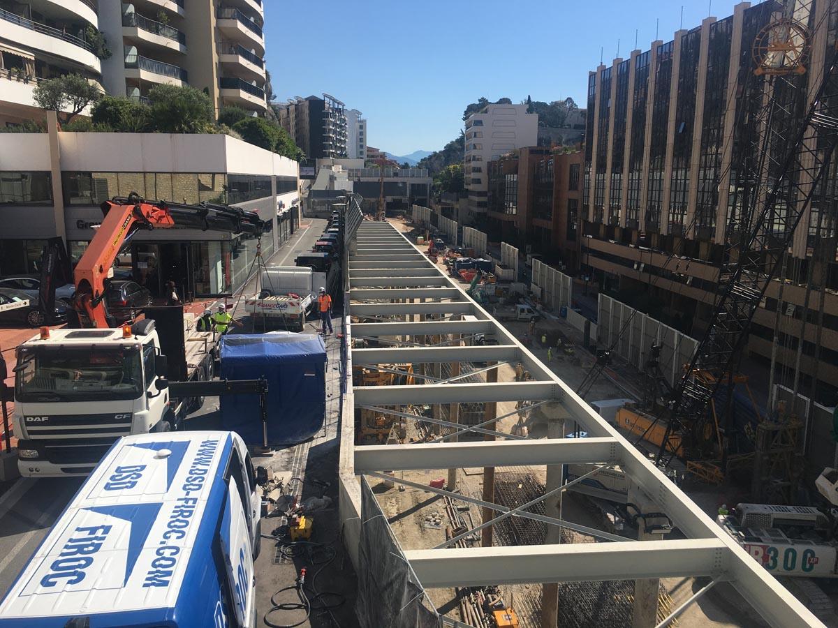 Solutions acoustiques de chantier à Monaco - Tentes acoustiques ACOUSTEAM