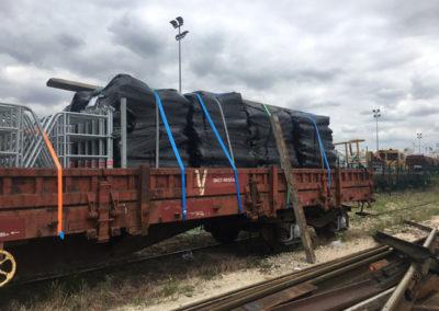 bâches acoustiques pour chantier mêtro, voirie à Paris - Gare de Lyon RER - D