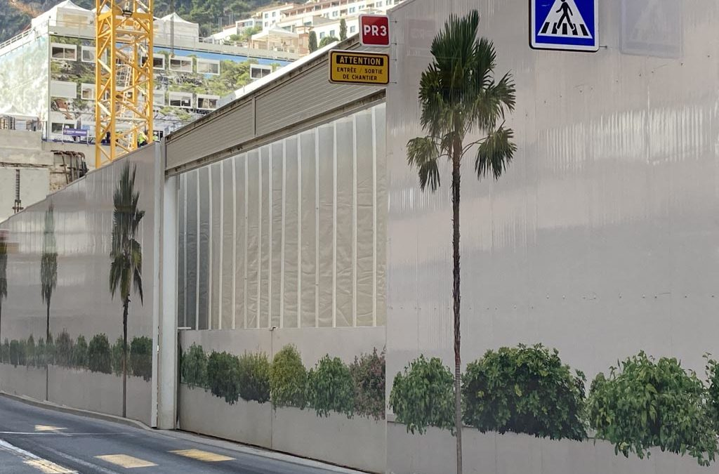 De grandes portes acoustiques pour un chantier à Monaco